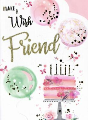 Touching birthday message to a best friend