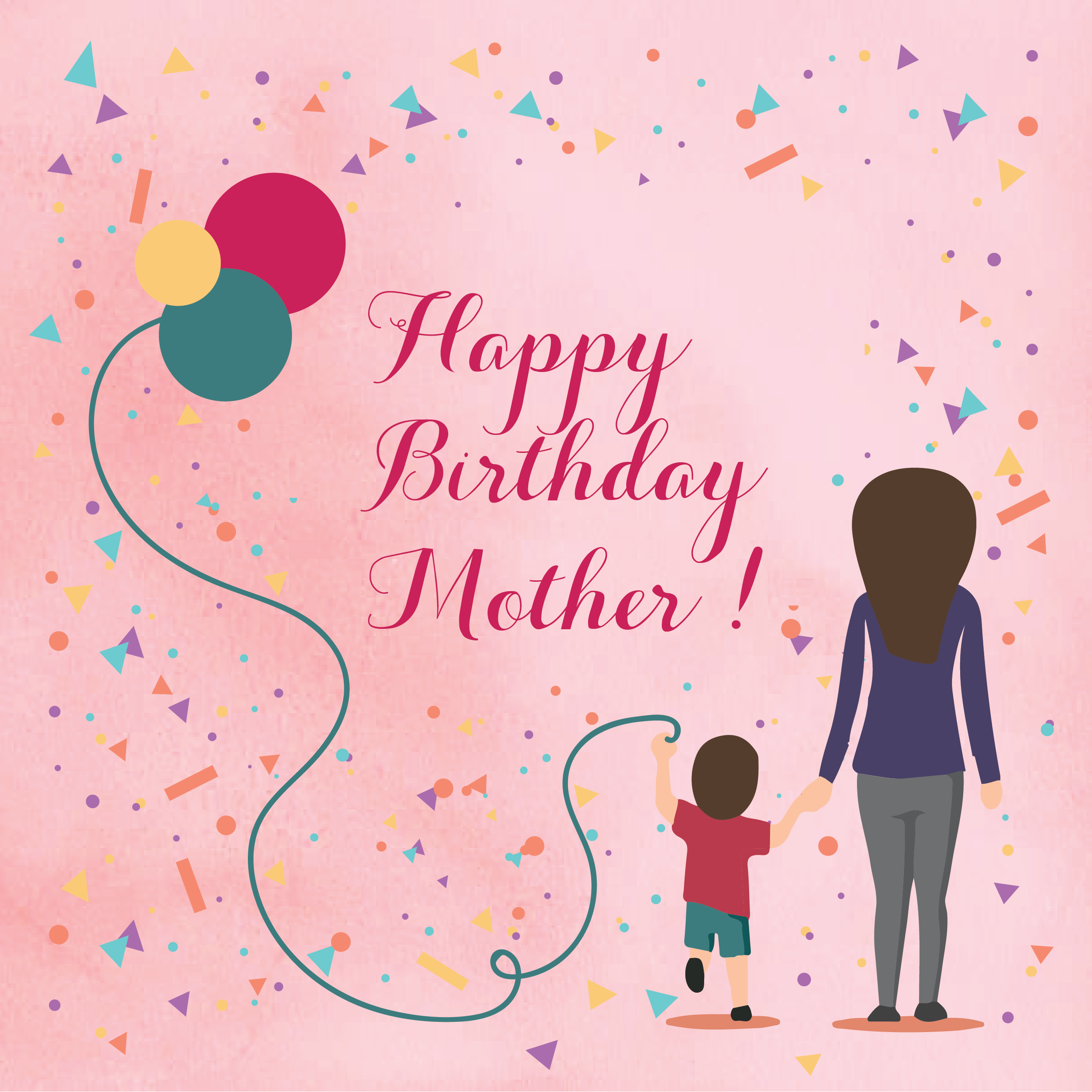 Phenomenal Best 20 Happy Birthday Wishes For Mother Welcome Wishes Personalised Birthday Cards Paralily Jamesorg