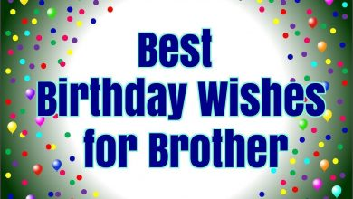 Best 20 Happy Birthday Wishes For Brother