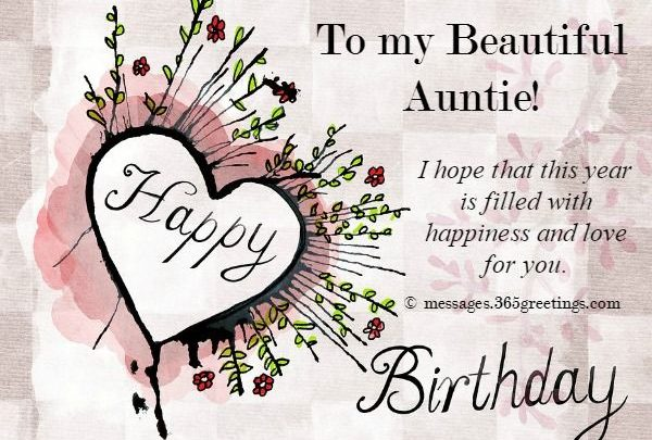Best 20 Happy Birthday Wishes for Aunty - Welcome Wishes