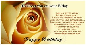 Best 20 Happy Birthday Wishes for Girlfriend