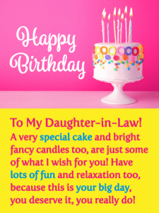 Best 20  Happy Birthday Wishes for Daughter in law
