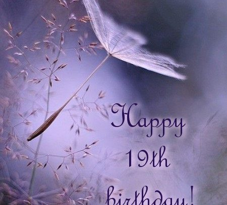 Happy Birthday Wishes for 19-year-old Boy and Girl