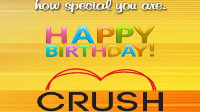 Happy Birthday Messages for a Crush