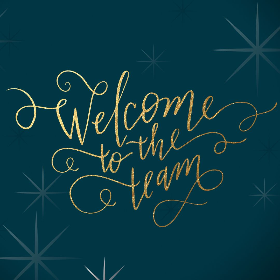 welcome message to new employee