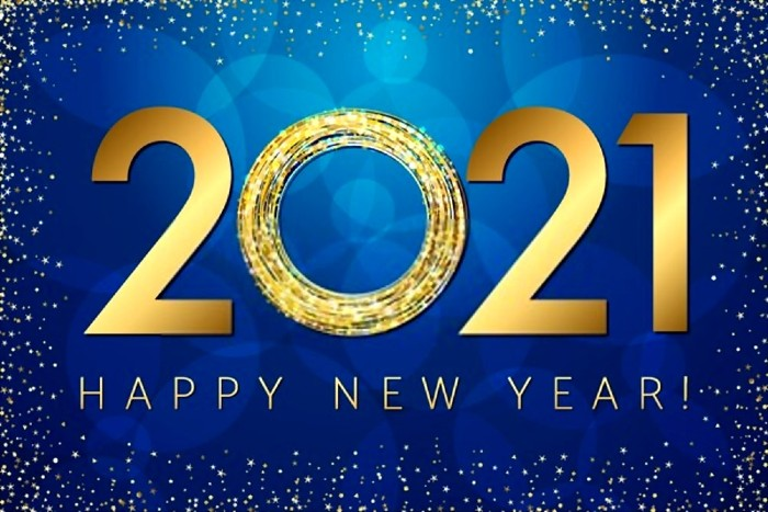 Happy New Year 2020 Date
