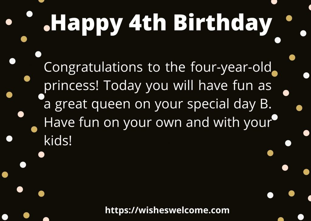 4rht birthday message