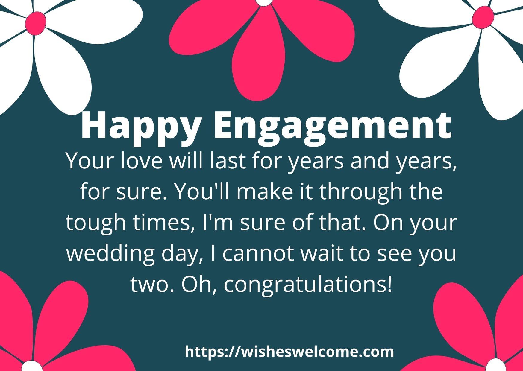 engagement message